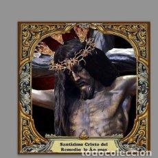 Segunda Mano: AZULEJO 10X10 DEL SANTÍSIMO CRISTO DEL REMEDIO DE ÁNIMAS DE CORDOBA. Lote 161457746