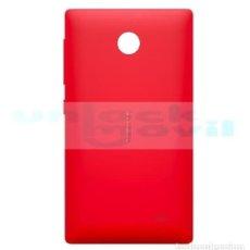 Segunda Mano: CARCASA ORIGINAL NOKIA X DUAL SIM TRASERA TAPA BATERIA RED. Lote 161974438