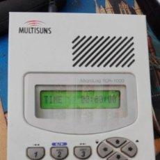 Segunda Mano: CALL RECORDER MULTISUNS CON CARGADOR Y FUNCIONANDO. Lote 161998618