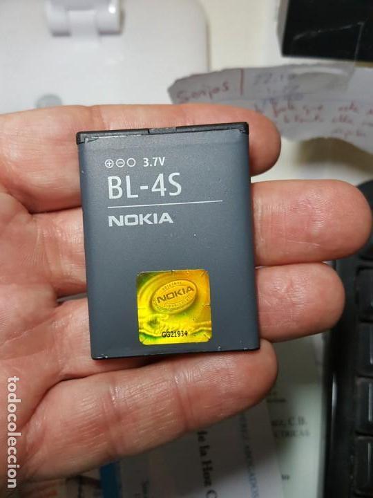 BATERIA NOKIA ORIGINAL BL-4S PARA MODELO 2680S 3600S 7020 6208C 3710 7100 7610 (Segunda Mano - Artículos de electrónica)