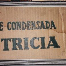 Segunda Mano: MARCO CON CARTON ANTIGUO.NUTRICIA.LECHE CONDENSADA.MUY RARO.. Lote 162464769