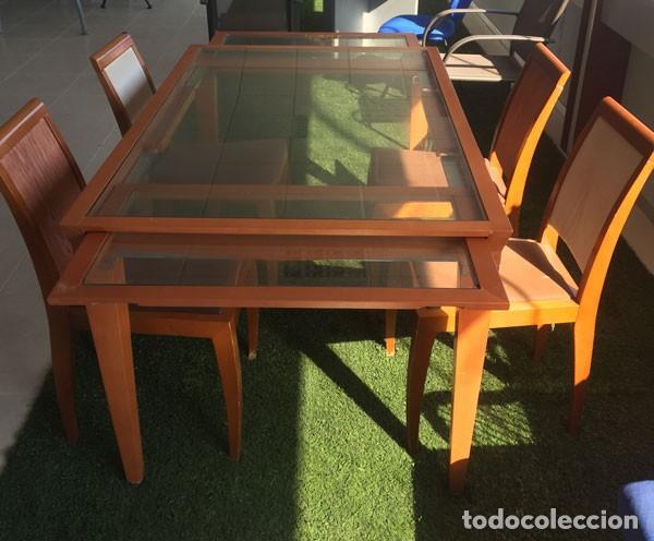 mesa comedor + 5 sillas