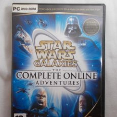 Segunda Mano: STAR WARS GALAXIES THE COMPLETE ONLINE ADVENTURES PC DVD-ROM. Lote 162988558