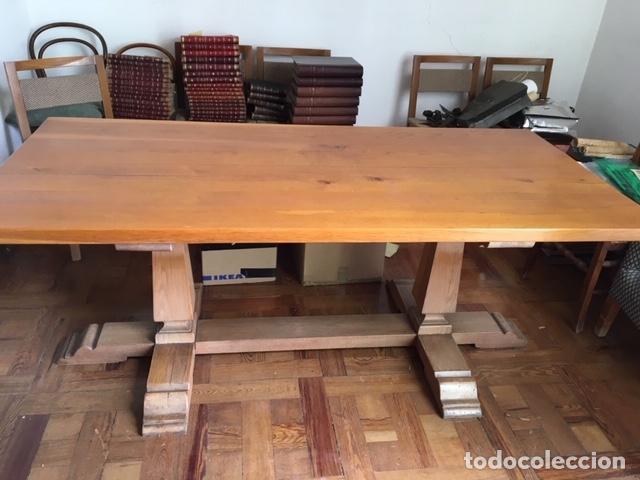 mesa comedor de roble y 6 sillas años 70. muebl - Comprar artículos ...