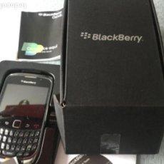 Segunda Mano: TELEFONO MOVIL - BLACKBERRY CURVE 3G SMARTPHONE DE ORANGE. MODELO 9300 GRAFITE GREY. Lote 164802778