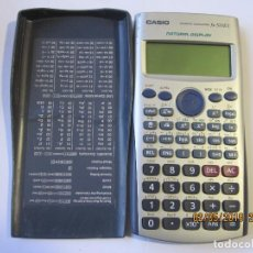 Segunda Mano: CALCULADORA CASIO FX-570ES CIENTÍFICA MÁQUINA FX570ES FUNCIONA . Lote 165109022