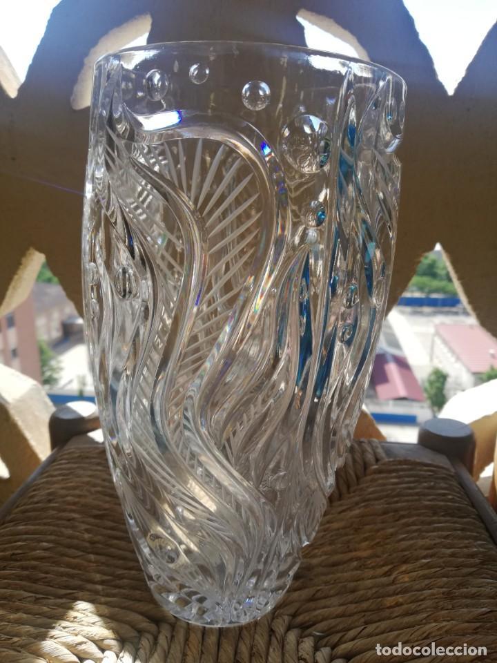 Segunda Mano: Jarrón bucaro de cristal de Bohemia - Foto 4 - 166065666