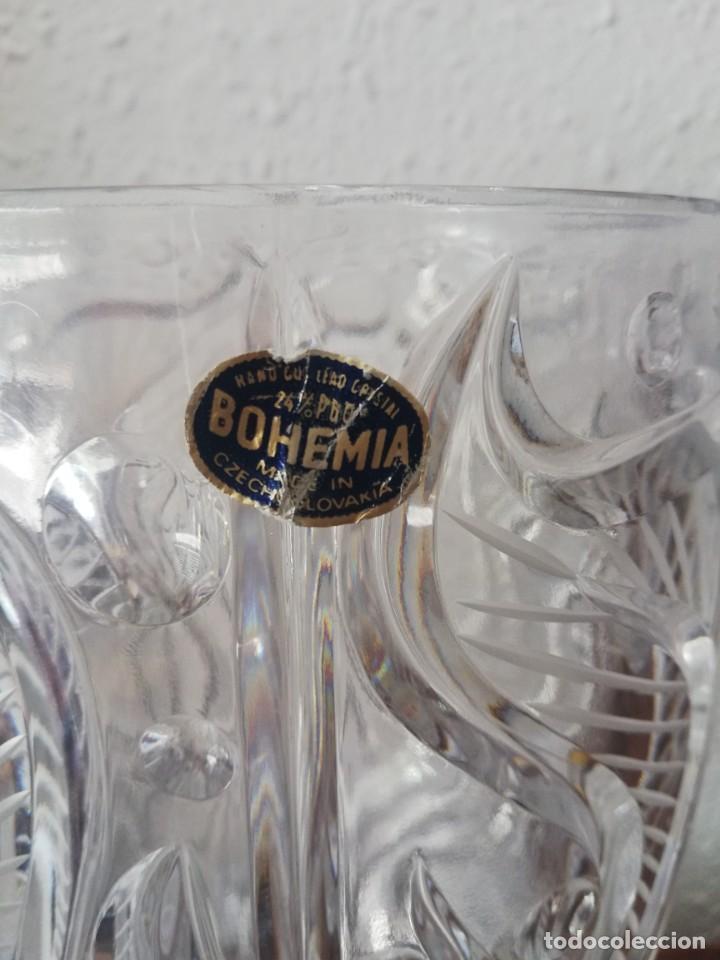 Segunda Mano: Jarrón bucaro de cristal de Bohemia - Foto 6 - 166065666