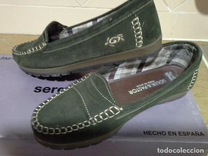 Zapatos Made Spain Piel Ante In Mujer Nuevos 37 Num vy7Ifb6Yg