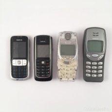 Segunda Mano: LOTE NOKIA: 2630 + 3210 + 3310 + 6020 (BLOQUEADOS). Lote 166950488