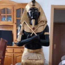 Segunda Mano: ESTATUA FARAÓN EGIPCIO. Lote 167171840