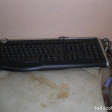 Segunda Mano: TECLADO DE ORDENADOR SOBREMESA PC MARCA PACKARD BELL 9205 CON CONEXION ENTRADA PARA PS2 PLAY. Lote 235385125