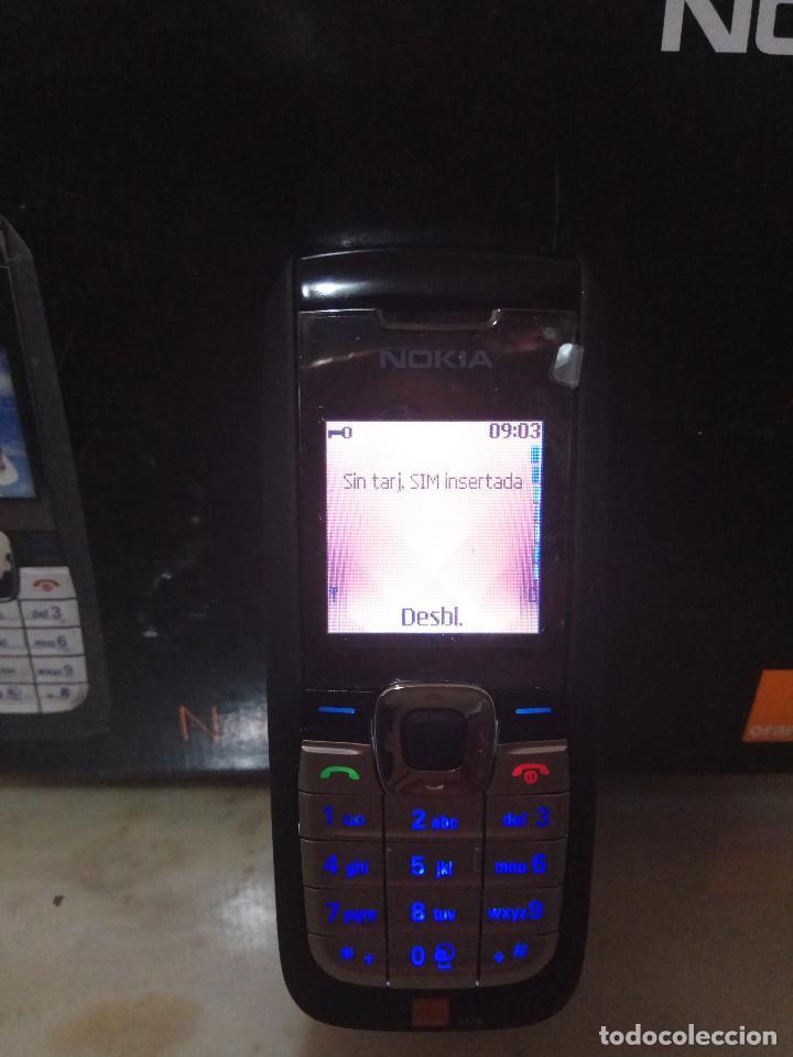 Segunda Mano: Telefono Movil Nokia 2610 orange en caja original completo muy buen estado con cargador celular - Foto 2 - 259952105