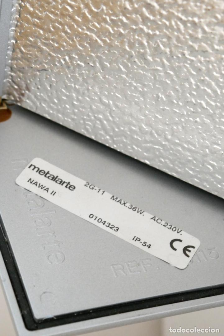 Segunda Mano: Lámpara aplique de pared Nawa 2 de Metalarte diseño Antoni Arola 1999 - Foto 4 - 223437090