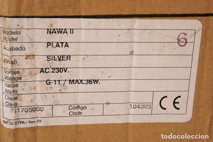 Segunda Mano: Lámpara aplique de pared Nawa 2 de Metalarte diseño Antoni Arola 1999 - Foto 6 - 223437090