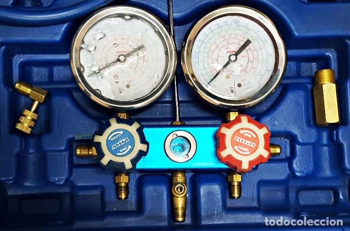 Segunda Mano: Maletin con Manometro y 2 mangueras para carga de gas. - Foto 3 - 168746840