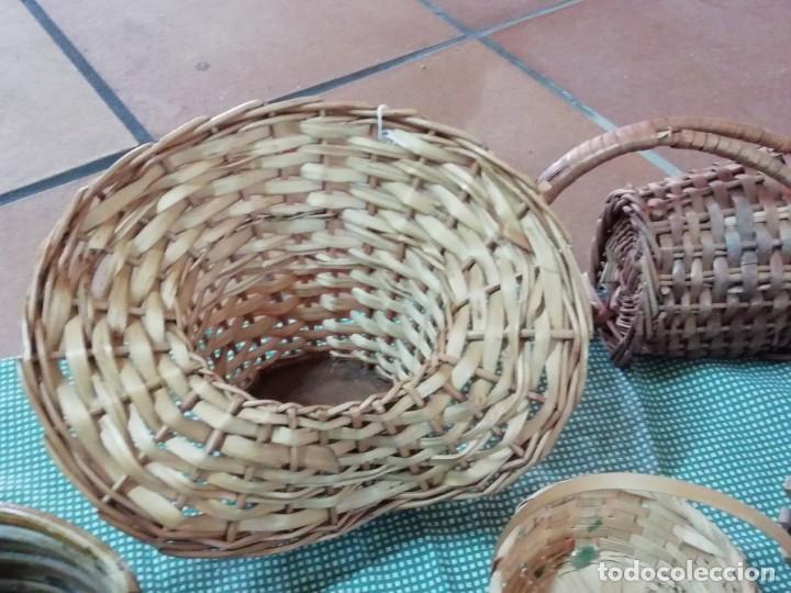 Segunda Mano: Cestos en mimbre y otros materiales naturales - Foto 6 - 168759984