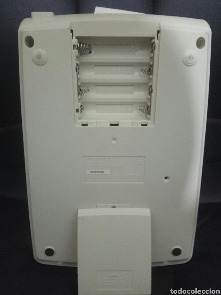 Segunda Mano: Calculadora citizen impresora pantalla papel cx-32 II 12 dígitos con tecla de impuestos - Foto 4 - 168975690