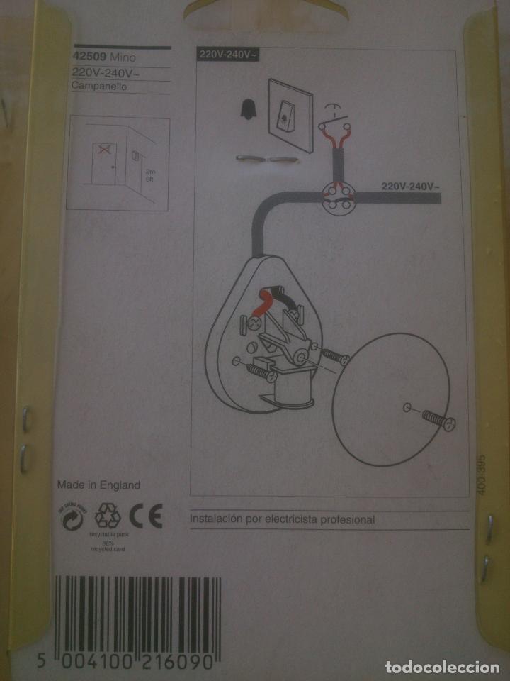 Segunda Mano: TIMBRE ELECTRICO DE CAMPANA - Foto 2 - 243524685