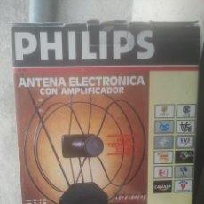Segunda Mano: ANTIGUA ANTENA ELECTRÓNICA - PHILIPS - CON AMPLIFICADOR - PARA TV. Lote 169417804