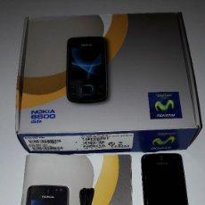 Segunda Mano: TELÉFONO MÓVIL NOKIA 6600 SLIDE CON CAJA, CARGADOR Y ACCESORIO . Lote 169569140