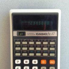 Segunda Mano: CALCULADORA CASIO FX-17. Lote 169804808