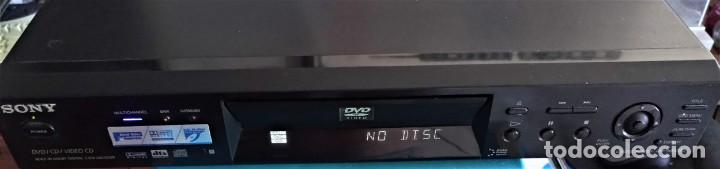 Segunda Mano: SONY CD/DVD PLAYER model DVP-N54000 - REPRODUCTOR DVD VINTAGE - Foto 2 - 170551056