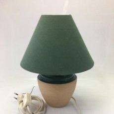 Segunda Mano: LAMPARA PARA SOBRE-MESA, CABLE CON INTERUCTOR, 27 CMS. ALTURA. Lote 171132683