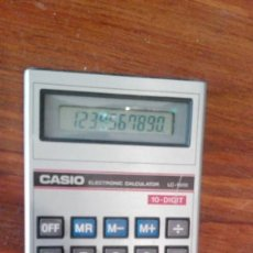 Segunda Mano: CALCULADORA CASIO LC1000. Lote 171134745