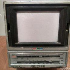 Segunda Mano: TELEVISOR PORTATIL CONTEC TV VINTAGE RETRO. Lote 171153627