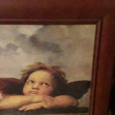 Segunda Mano: CUADRO DE ANGEL. Lote 171208860