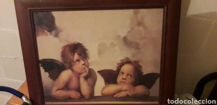 CUADRO ANGELES (Segunda Mano - Hogar y decoración)