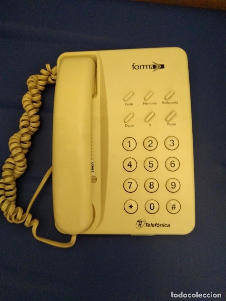Segunda Mano: Teléfono modelo forma de telefónica. Buen estado. - Foto 2 - 171479367