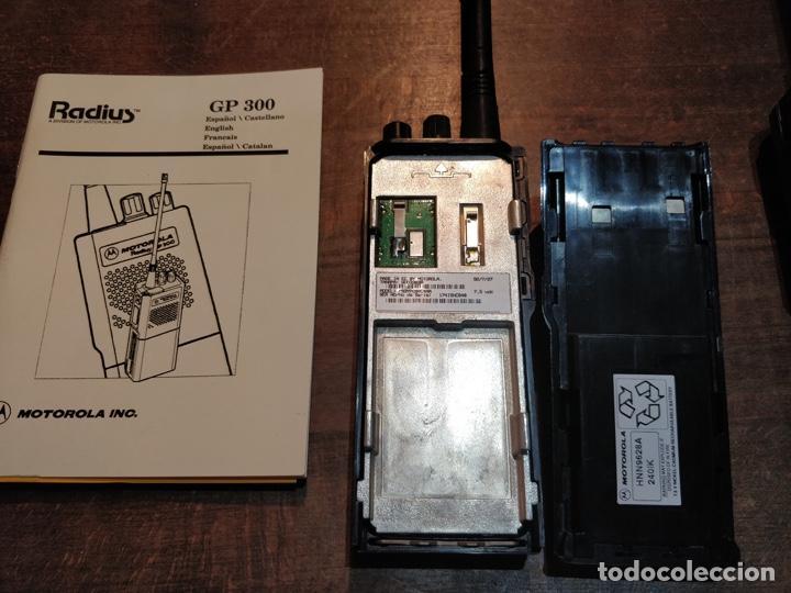 Segunda Mano: Pareja de Motorola Radios GP300 con manual de instrucciones original - Foto 7 - 194376675