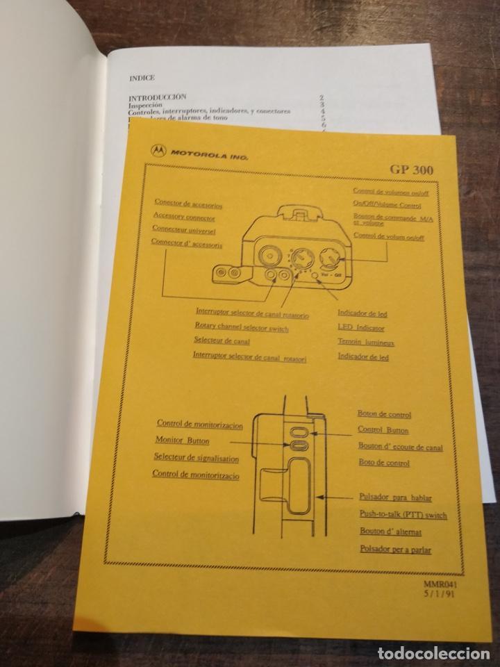 Segunda Mano: Pareja de Motorola Radios GP300 con manual de instrucciones original - Foto 2 - 194376675