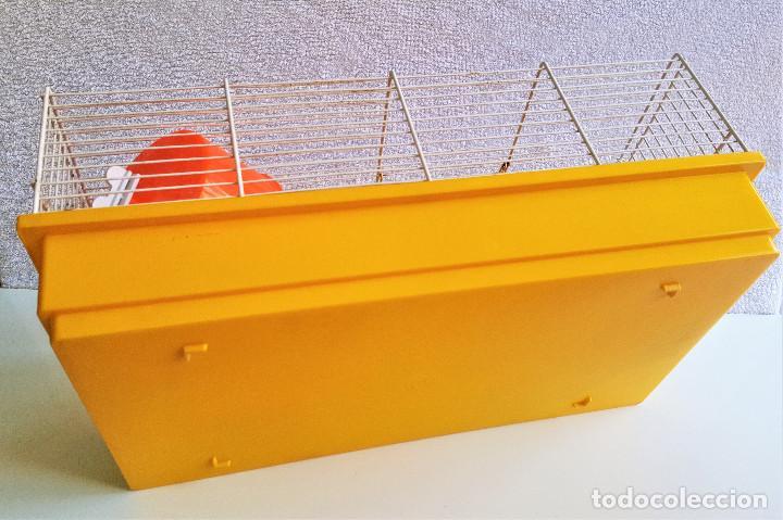 Segunda Mano: Jaula de hamster con comedero, bebedero, casita, escalera, plataforma y rueda PARESE COMPLETO - Foto 14 - 171634708