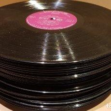 Segunda Mano: 47 VINILOS LP USADOS PARA TRABAJOS DE ARTESANÍA O DECORACIÓN / VER FOTOS.. Lote 171768502