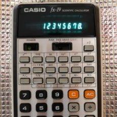 Segunda Mano: CALCULADORA CASIO FX-19. Lote 171794580