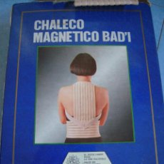 Segunda Mano: CHALECO MAGNÉTICO BAD'I. Lote 171804554