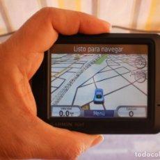 Segunda Mano: GPS GARMIN NÜVI 245 (MAPAS ESPAÑA ACTUALIZADOS A 2018). Lote 171807873
