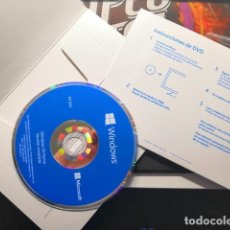 Segunda Mão: WINDOWS 10 HOME 64BIT DVD. Lote 172297737