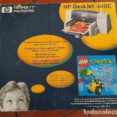 Segunda Mano: IMPRESORA INYECCION DE TINTA HP DESKJET 640C. INCLUYE CABLES Y DOCUMENTACIÓN.. Lote 172506998