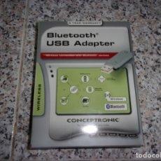 Segunda Mano: BLUETOOTH USB ADAPTER - CONCEPTRONIC.. Lote 172606248