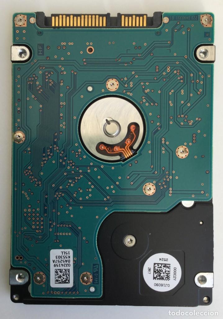 "Segunda Mano: Disco duro 2.5"" Sata Hitachi 500GB 5400RPM H2T500854S7 - Foto 3 - 172654108"