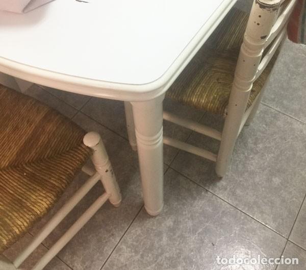 mesa de cocina mas 5 sillas