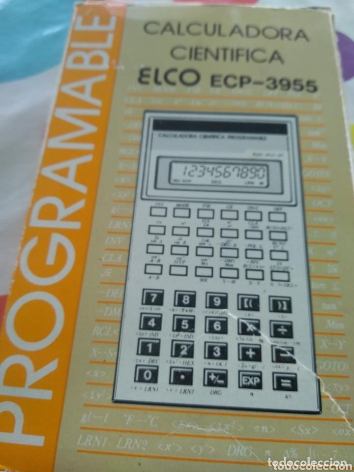 Segunda Mano: CALCULADORA CIENTIFICA PROGRAMABLE ELCO ECP-3955 - Foto 6 - 173843162