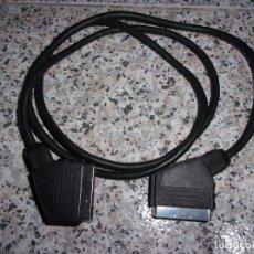 Segunda Mano: CABLE EUROCONECTOR MACHO A MACHO.. Lote 173955732