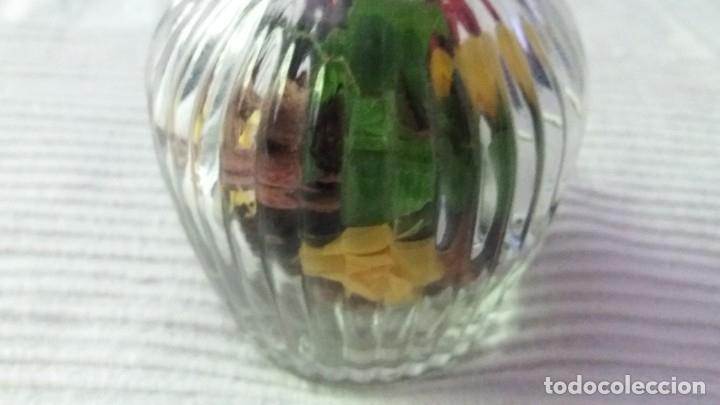 Segunda Mano: Botella de cristal con tapón de cristal - Foto 5 - 174329507