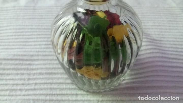 Segunda Mano: Botella de cristal con tapón de cristal - Foto 6 - 174329507
