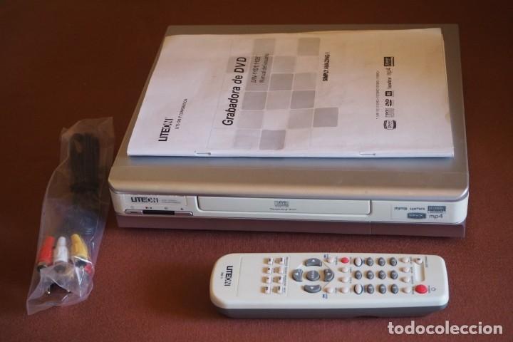 GRABADORA DVD LITEON LVW-1011/1015 (Segunda Mano - Artículos de electrónica)